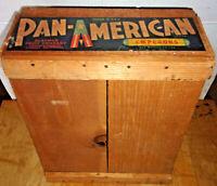 Antique Pan American Slayman Fruit Box/Crate