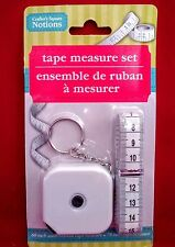 Measuring tapeTaylor's/Health soft fabric tapes. Sewing tape 79in retractable 60