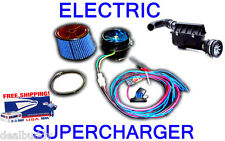 Jaguar Land Range Rover Electric Turbo Air Intake Supercharger Engine Fan System