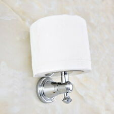 Polished Chrome Brass Wall Mounted Bathroom Toilet Paper Roll Holder mba817