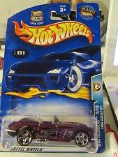 Hot Wheels 1958 Corvette #151 Wastelanders Purple