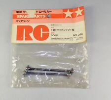 TAMIYA VINTAGE 1/10 RC  DRIVE SHAFT SHORT 50298