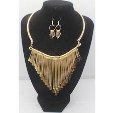764fb37ae27 Fashion Charm Pendant Chain Crystal Jewelry Choker Chunky Statement Bib  Necklace Ns61 Gold