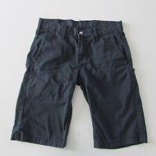 Levi's 666 Mens Cotton Shorts Size W30 Dark Blue