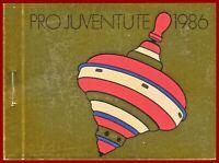 Schweiz 1986 Pro Juventute, postfrisches Markenheft ** MNH, Mi 0-82, SBK 35