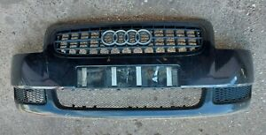 AUDI TT MK1 8N FRONT BUMPER (BLACK) COMPLETE