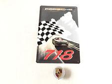 Porsche 718 Boxster Blechschild Schild