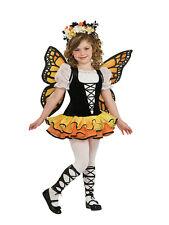 Kids Monarch Butterfly Fairy Tutu Princess Girls Fancy Dress Costume Outfit