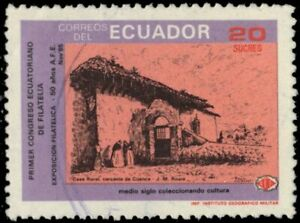 """ECUADOR 1096 - Architecture """"Rural Cottage near Cuenca"""" (pb33278)"""