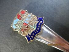 "A Vintage Silver Plated Butter / Jam Knife Commemorative "" Brisbane"" ~ Australia"