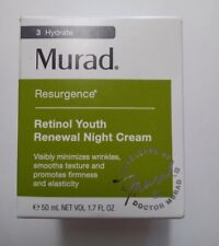 MURAD  Resurgence Retinol Youth Renewal Night Cream 1.7 fl oz/50 mL - New Box