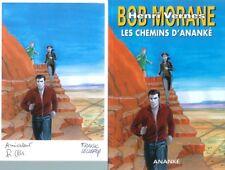 EO BOB MORANE HC N° 61 + RÉMY GALLART + EX LIBRIS SIGNÉ : LES CHEMINS D'ANANKÉ