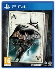 BATMAN: RETURN TO ARKHAM PS4 VIDEOGIOCO PLAYSTATION 4 ITALIANO GIOCO NUOVO PAL