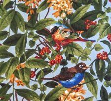Búhos de América del Norte Panel 100/% algodón Acolchado tela Elizabeth/'s Studio Aves