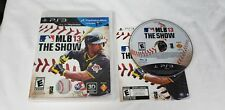 MLB 13 The Show Sony PlayStation 3 PS3 COMPLETE GAME NEAR MINT MCCUTCHEN