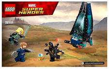 *LEGO INSTRUCTIONS* Marvel Super Heroes AVENGERS OUTRIDER DROPSHIP ATTACK 76101