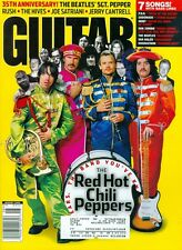 2002 Guitar World Magazine: Red Hot Chili Peppers The Beatles' Sgt. Peppers 35th