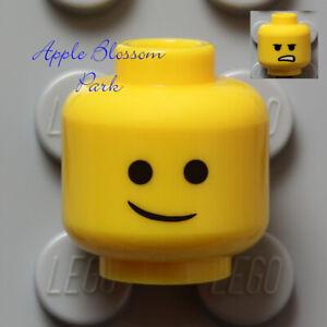 NEW Lego EMMET MINIFIG YELLOW HEAD - Movie Boy/Girl w/Classic Lopsided Smile