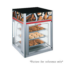Hatco Fsd-2 Countertop Hot Food Display Case with 2 Doors and 3 Tier Circle Rack