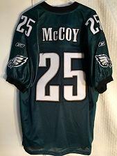 Reebok Authentic NFL Jersey Eagles McCoy Green sz 54