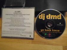 RARE PROMO DJ DMD CD single Go Back Home RAP hip hop Point Blank SUPERB HERB '99