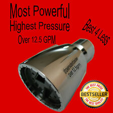 High Pressure Shower Head Over 12.5 gpm Most Powerful Best Seller Model swb-s3