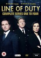 LINE OF DUTY COMPLETE SERIES 1-4 DVD Season 1 2 3 4 Martin Compston Vicky New R2