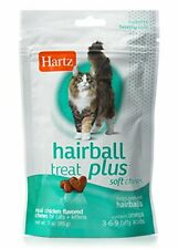 New listing Hartz Hairball Remedy Plus Chicken Flavored Soft Chews for Cats and Kittens