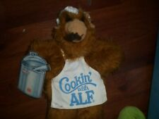 Vintage 1988 Burger King Cooking with Alf Chef Hand Puppet Plush W/Tag