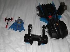 BATMAN MAGNECTIC INTERCHANGEABLE CAR VEHICLE AND CYCLE WITH FIGURE