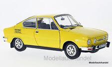 Skoda 110r Coupe 1980 amarillo - 1:18 Abrex