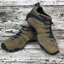 Merrell Chameleon Stretch Kangaroo Mens hiking shoes Leather brown Size 14 M