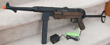 German MP40 Style Metal Gearbox Auto Electric Airsoft Gun Brown