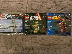 LEGO Star Wars - Protocol Droids - TC-4 5002122 TC-14 5000063 C-3PO 5002948 -NEW
