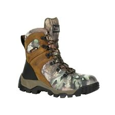 ROCKY SPORT PRO WOMEN'S 800G INSULATED WATERPROOF OUTDOOR BOOT, MOSSY OAK CAMO