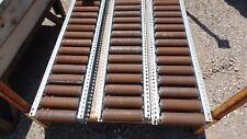 """Gravity Conveyor 64"""" L x 11.5"""" W Roller size 8"""" W x 2 3/8"""" W 1000+ feet"""