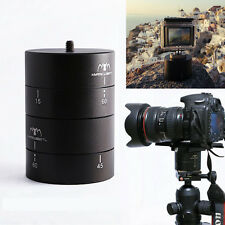 360 Degrees Pan Rotating Time Lapse Stabilizer Tripod Adapter for Gopro DSLR HOT