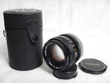 Canon 50mm f1.4 FD SSC + Hard Case Custodia Rigida in Excellent Condition