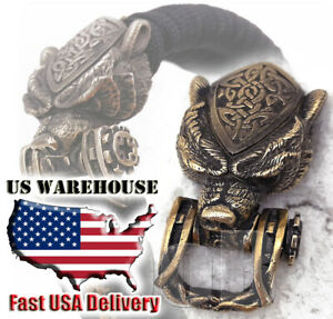 CooB Paracord Buckle Shackle Clasp Lock Bead BEAR GRIZZLY for Paracord Bracelet