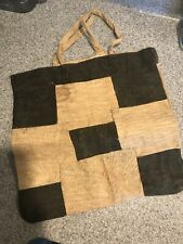 New ListingBark Cloth Tote Bage, Africa, Ethnographic Art