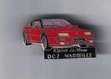 pin's..ALPINE..RENAULT..LE MANS.DCZ MARSEILLE..CAR.VOITURE..DEMONS ET MERVEILLES