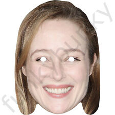 Jennifer Ehle Celebrity Card Mask Fifty Shades of Grey-Masks Are Pre-Cut! ***