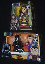 Metals Die Cast WONDER WOMAN M17 and BATMAN v SUPERMAN M10 DC Comics Heroes