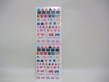 stickers for decoration deco schedule planner agenda Japan new