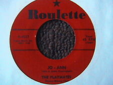 """THE PLAYMATES """"JO-ANN"""" / """"YOU CAN'T STOP ME FROM DREAMING"""" 7"""" 45 DOO WOP R & B"""