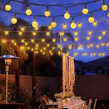 Outdoor Solar Powered 30 LED String Light Garden Patio Yard Lamp Party Wedding