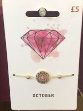 TOPSHOP Freedom October Theme Bracelet Wristband Jewellery RRP £5
