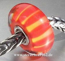 Trollbeads * Pfirsich Streifen * Herbst 2012 * 01