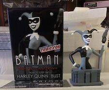 Harley Quinn Batman The Animated Series New York Comic Con 2015 Bust Statue New