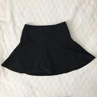 Athleta Everyday Skort Size 0 Black Women's Workout Tennis Golf Skirt Shorts  63